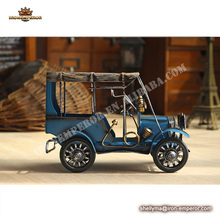 Retro vintage metal crafts Tin Classic Car Model Home Decoration