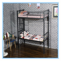 Cheap dubai steel keel bunk bed student bed for school