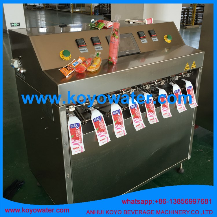 Fruit Flavoured Carbonated Soft Drinks/Soda Pop/mineral water pouch filling packing machine
