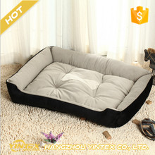 Wholesale Pet Accessories Eco-Friendly High Quality Cheap Washable Luxury Soft Large Plush Dog Bed for Small Animals