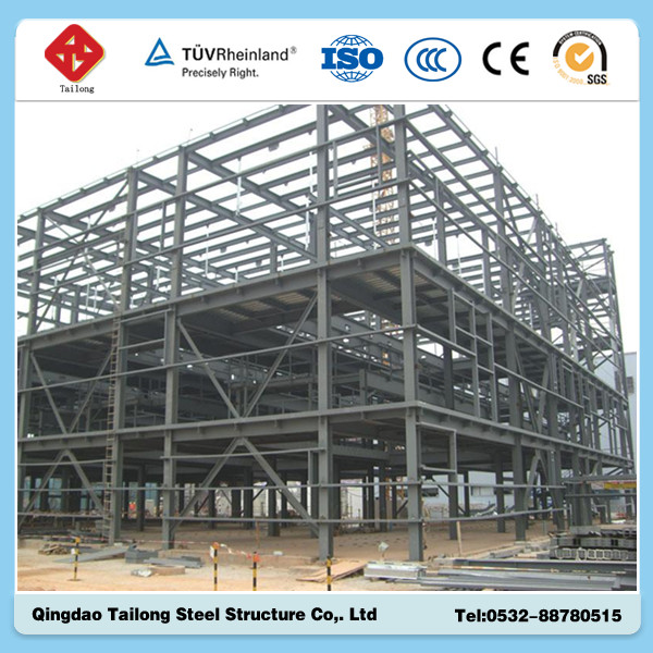 beautiful prefabricated steel structure workshop & warehouse & building