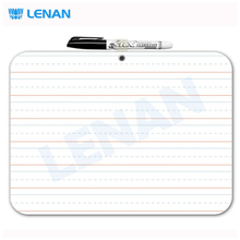 Office accessories frameless non-magnetic white board dry erase lapboard with marker