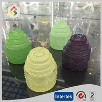 Jade Glass Box And Jar For Home Decoration Wholesale
