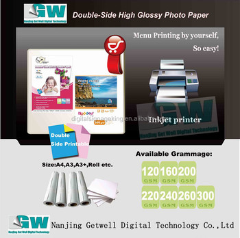 High Glossy Paper with best quality and low price from factory