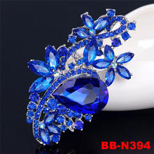 High quality stocks colors cheap rhinestone brooch for wedding in bulk