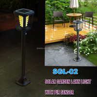 Led Light Garden Solar Energy Kit Lamp Lamp For Courtyard