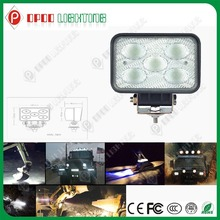 2014 Hot Selling 5.7'' 4500Lm CREE 50w 24w 12v led work light for agriculture motocycles