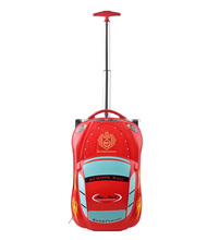 Car design High quality trolley 4 wheels school trolley bags for boys