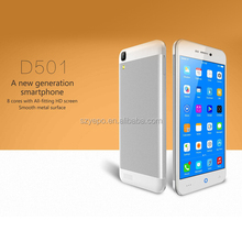 5 inch smartphone IPS Screen MTK 8392 OEM Smartphone Octa Core Android 4.4 3G GPS Dual Sim