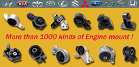 Auto Chassis Parts For Toyota Passo/Rubber Engine Mountings With Premium Quality And Reasonable Price