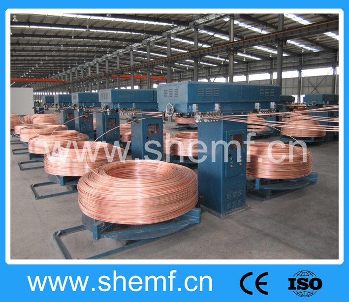 copper rod / wire cable drawing making machinery