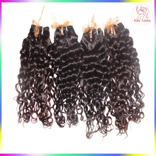 Grade 10A Burmese Unprocessed virgin Raw Human Hair Italy Curly Hair Extensions 8-30 inches Huge Stock Available