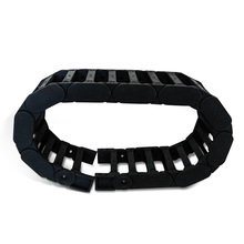Reinforced nylon drag chain Bridge type engineering nylon towline tanks chain cable Carrier protection