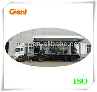 medical waste autoclaving truck