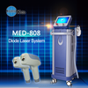 KES MED-808 diode laser hair removal 600 w natural hair removal system cheap spa beauty equipment