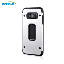 Manufacturers Hot Sale S7 Shock Proof 2 in 1 Metal Silicon Case For samsung s7
