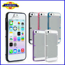 2013 Hot Selling For New iPhone 5S Clear hard case cover, size confirmed 100% fit---LAUDTEC