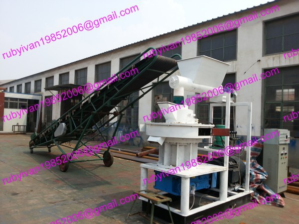 2015 promotion MKL450-75 ring die wood pellet press with capacity 800-2200kg/h