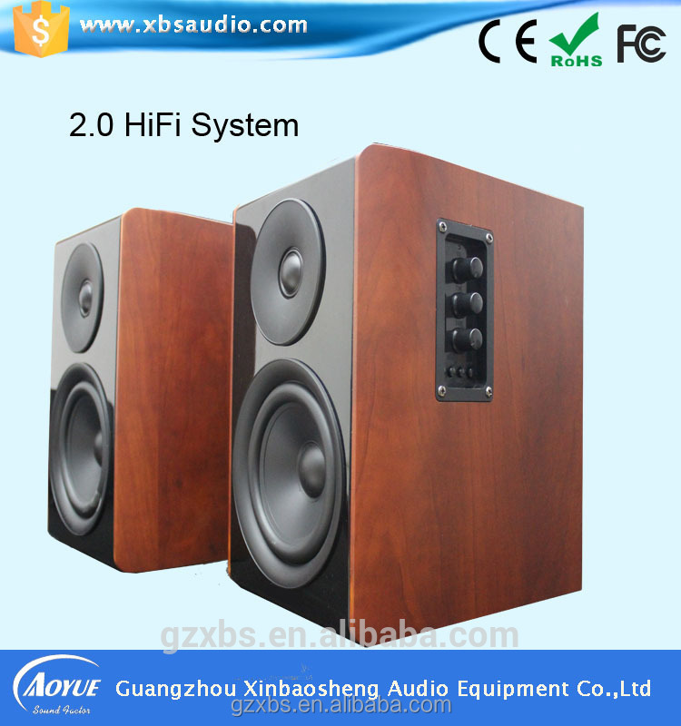 High Fidelity Sound 2.0 HIFI active 12v professional speaker