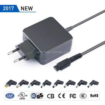 2017 New UL 45W Universal adapter portable slim adapter with 8 special DC tips