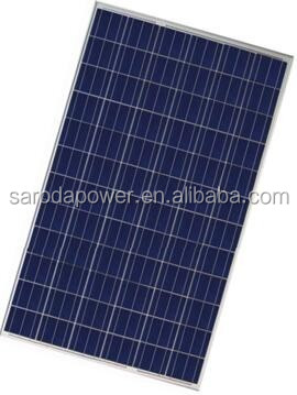 High conversion rate solar panel price with $0.4/watt from 100W to 300W polycrystalline solar panels