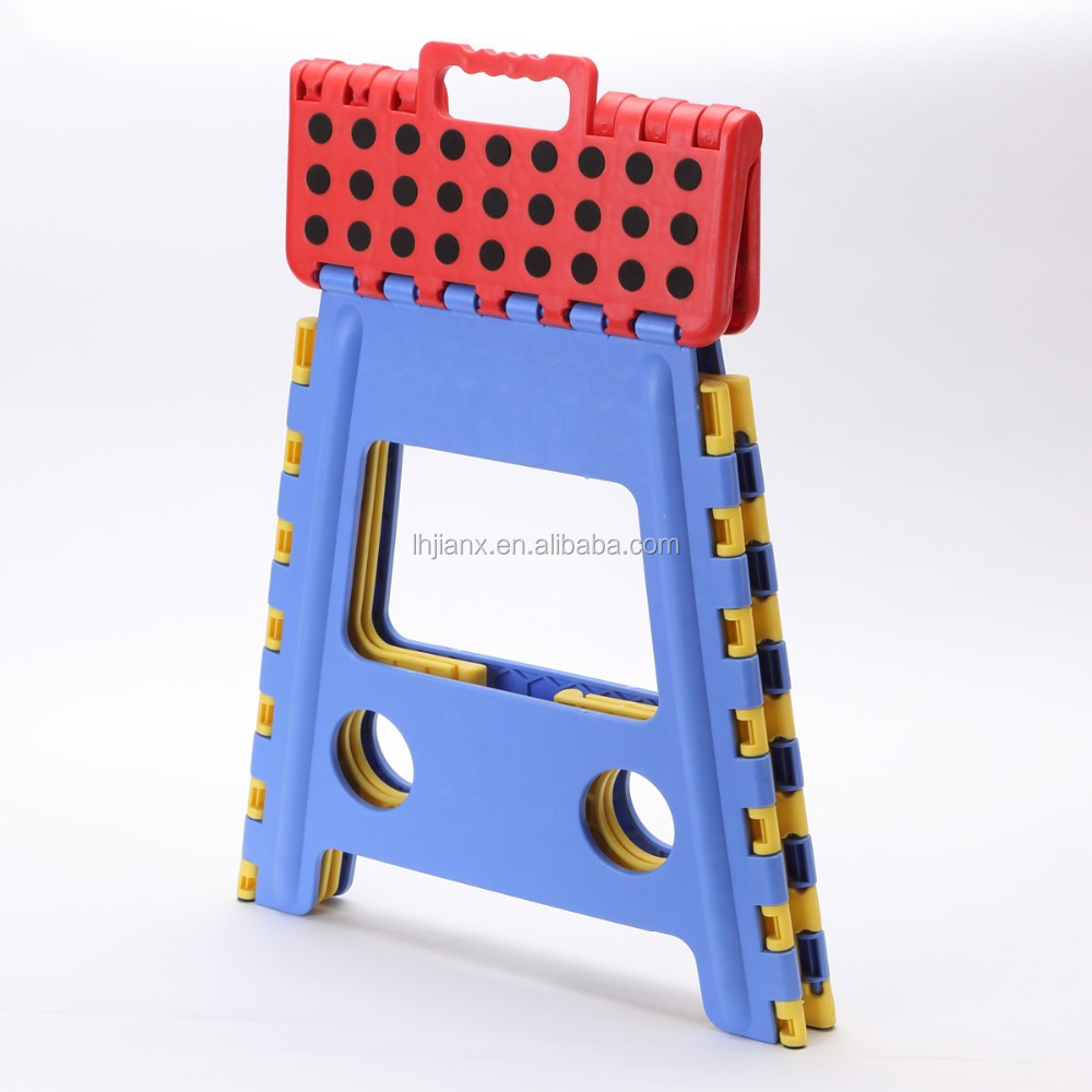 big plastic foldable stool