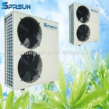 room mini air conditioner heat water pump heating and cooling system
