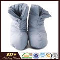 100% Cotton White Duck Down Shoes