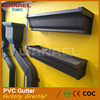 Best Quality White Color Plastic PVC 7 Inch Eaves Valley Gutter