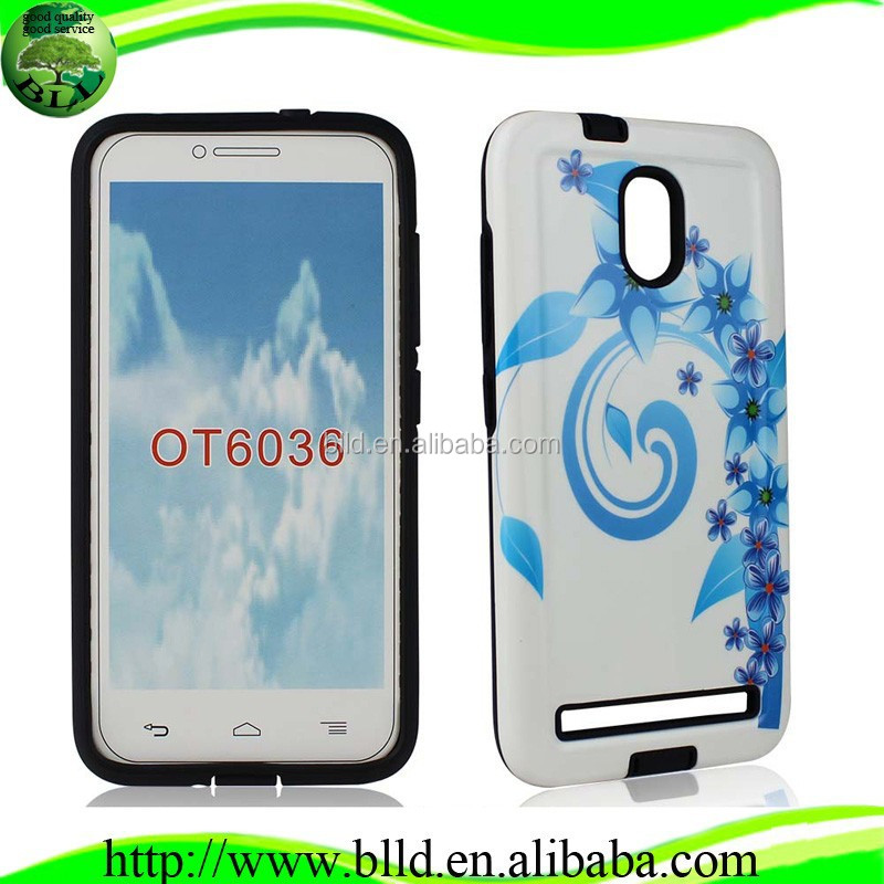 Personalized Photo Printed Full Protective Phone Cove for Alcatel OT6036