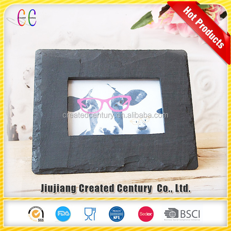 30x40 nice natural big slate picture photo frame for decoration