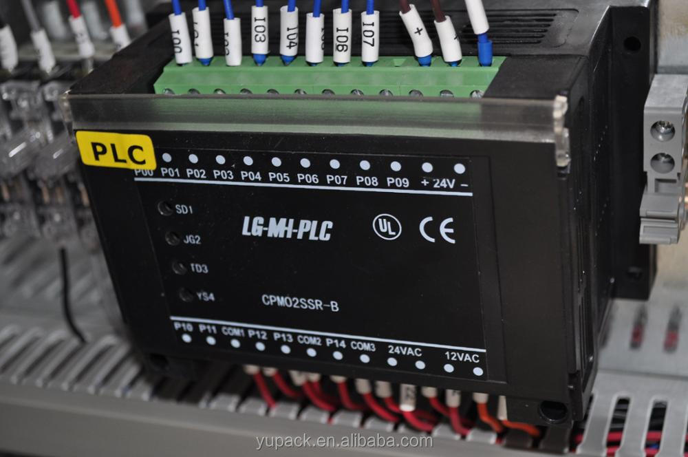 PLC control Model MH-101A automatic strapping machine