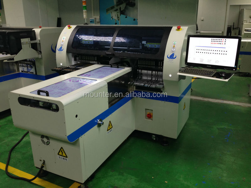Pcb manufacturing equipment, led lamp production line,pick and place machine
