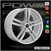 china alloy rim factory since 1983,PDW brand gloss black wheels