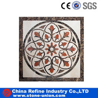 Square Marble WaterJet,Marble Pattern,Marble Mosaic