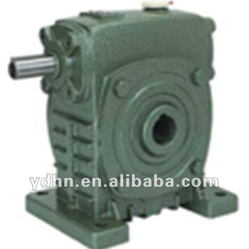 Wpks gear motor hollow shaft worm gear reducers gear motor for Hollow shaft gear motor