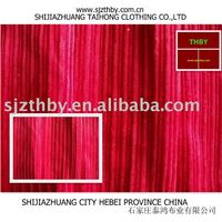 6W irregular striped corduroy fabric