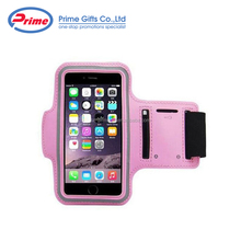 PU Leather & Neoprene Gym Jogging Sports Mobile Phone Armband