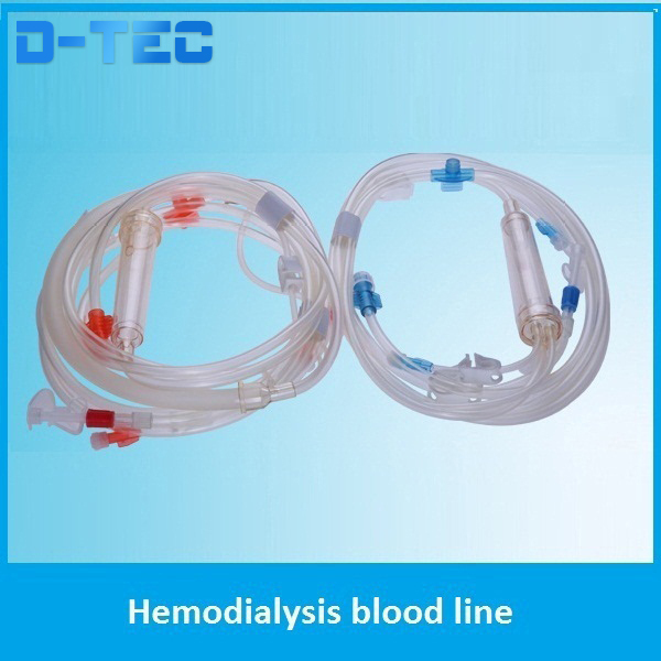 CE certified Hemodialysis blood lines, universal hemodialysis blood lines, good quality hemodialysis blood lines