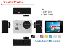 A9 1080P Waterproof sport Camera / hd mini sport dv manual Action Camera ,sport camera