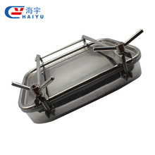 Stainless steel manhole cover/sanitary tank cover/stainless steel manway