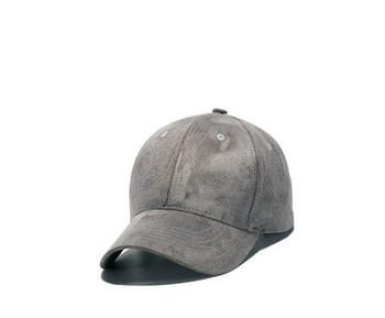 good quality promotional cheap costom logo suede baseball cap