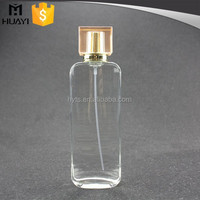 100ml refillable perfume glass bottle made in usa