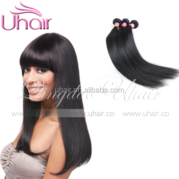 Wholesale remy hair straight expression hair extension