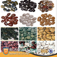 Pebble Stone Natural Polished Pebble Black