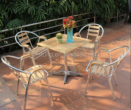 ZT-1042CT Aluminum ash wood home furniture set