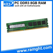 Computer spare parts cheap price ddr3 8gb desktop ram