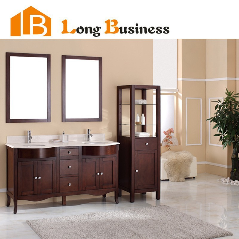 bthroom wlnut italian pen bathroom style pean vanity white spired european wooden populr color