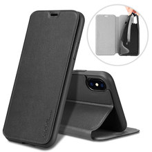 [X-level] Flip pu leather case x for iphone cover for iphone x case luxury
