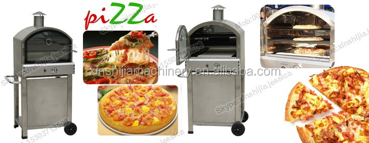 Commercial outdoor stainless steel simple pizza oven